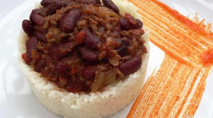 chili con carne express recette texane la tendresse en cuisine. Black Bedroom Furniture Sets. Home Design Ideas