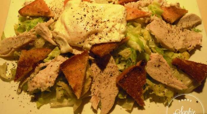 Salade c sar recette am ricaine la tendresse en cuisine - Recette traditionnelle cuisine americaine ...