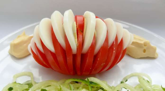 Tomate Oeuf Dur Une Tr 232 S Jolie Entr 233 E La Tendresse En