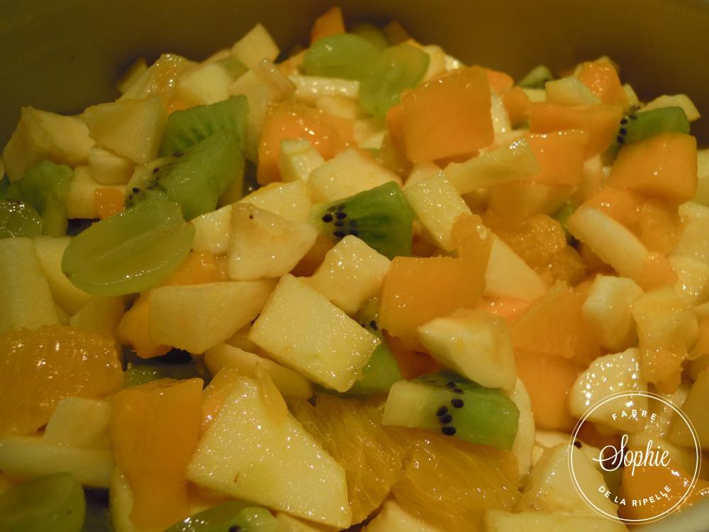 Salade de fruits d 39 hiver la tendresse en cuisine - Salade d hiver variete ...
