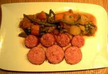 Saucisses de toulouse poch es au vin blanc la tendresse - Cuisiner des saucisses fumees ...