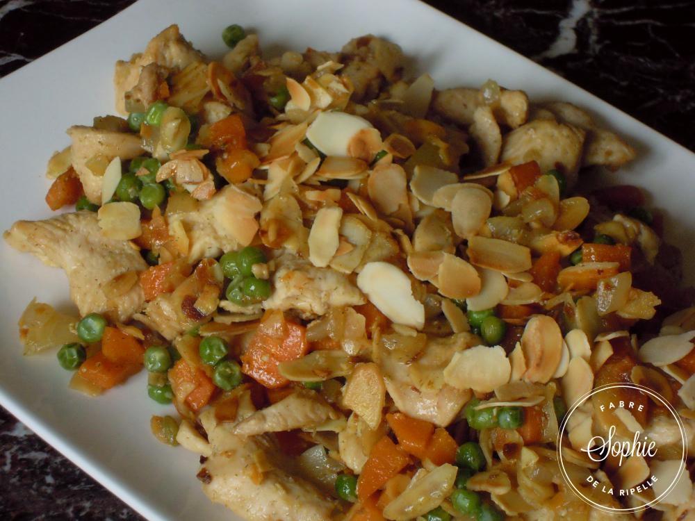 Poulet aux amandes chine la tendresse en cuisine for Aux beaux rivages la cuisine