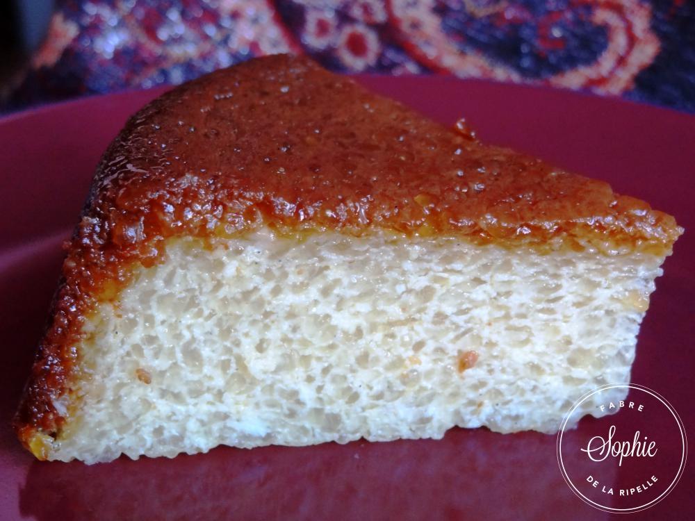 G 226 Teau De Tapioca Au Caramel Sans Gluten La Tendresse