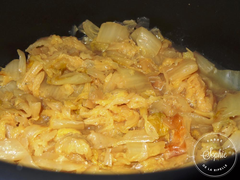 Chou chinois brais la tendresse en cuisine - Cuisiner le chou chinois cuit ...
