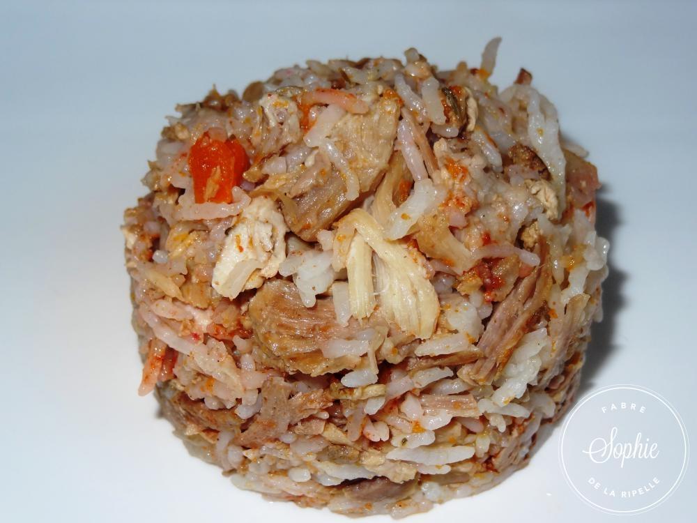 Rouelle de porc de plein air et riz saut s au paprika la tendresse en cuisine - Cuisiner la rouelle de porc ...