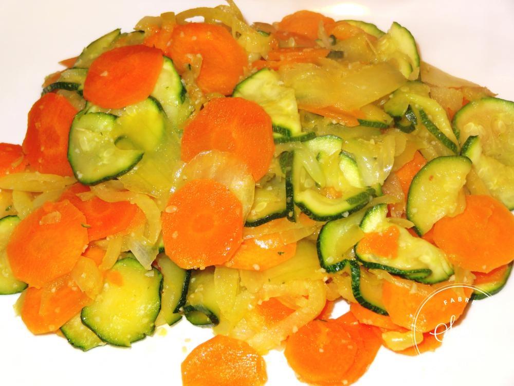 Carottes et courgettes brais es la tendresse en cuisine - Cuisiner fanes de carottes ...
