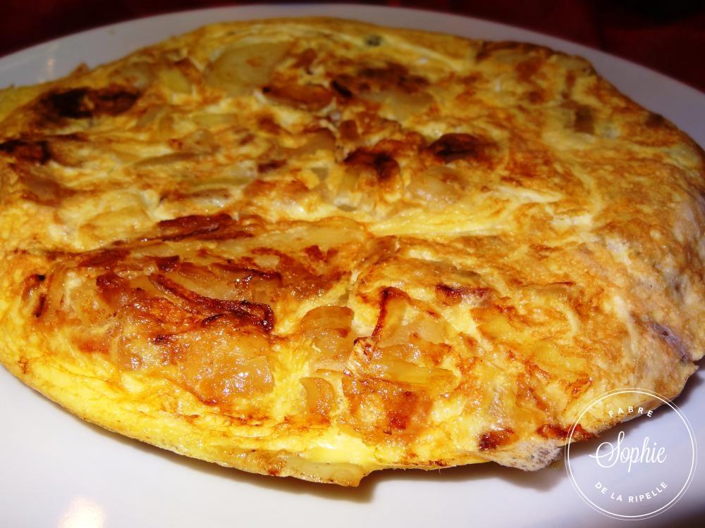 Tortilla Espagne La Tendresse En Cuisine