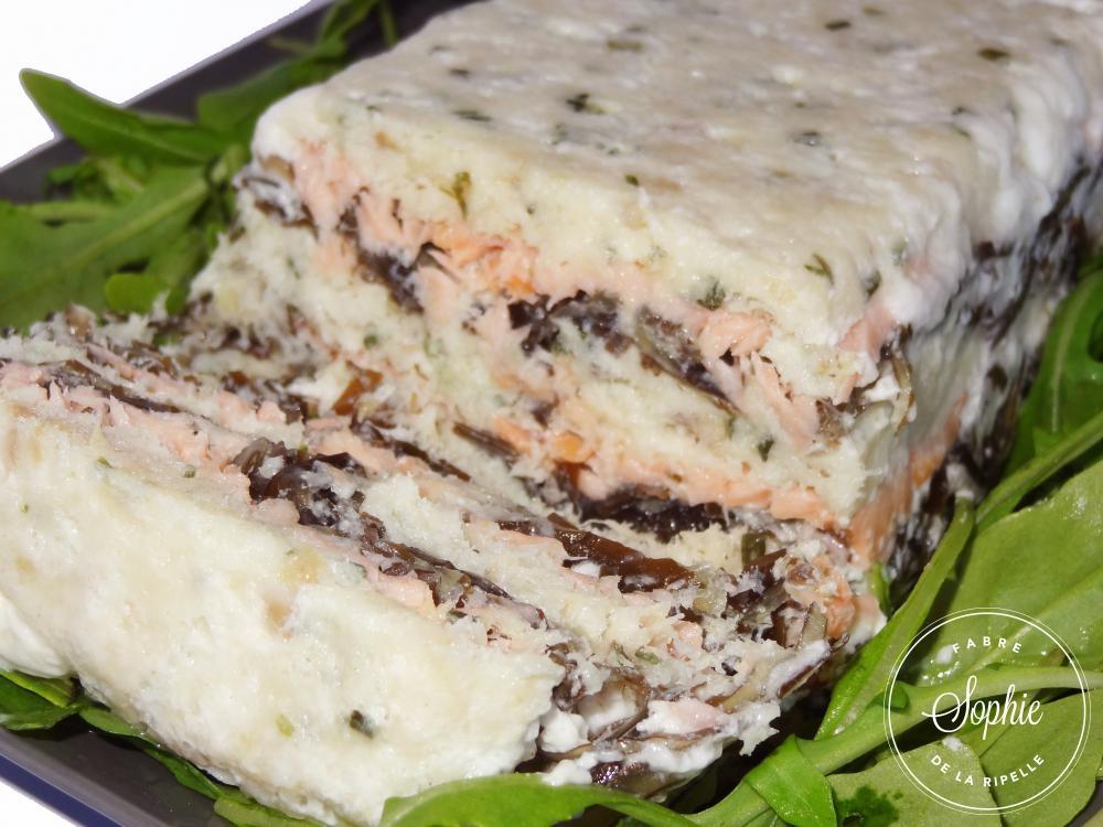 Terrine de cabillaud au saumon fum et au kombu la - Une mousseline en cuisine ...
