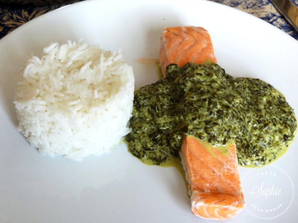 saumon à l'oseille - la tendresse en cuisine