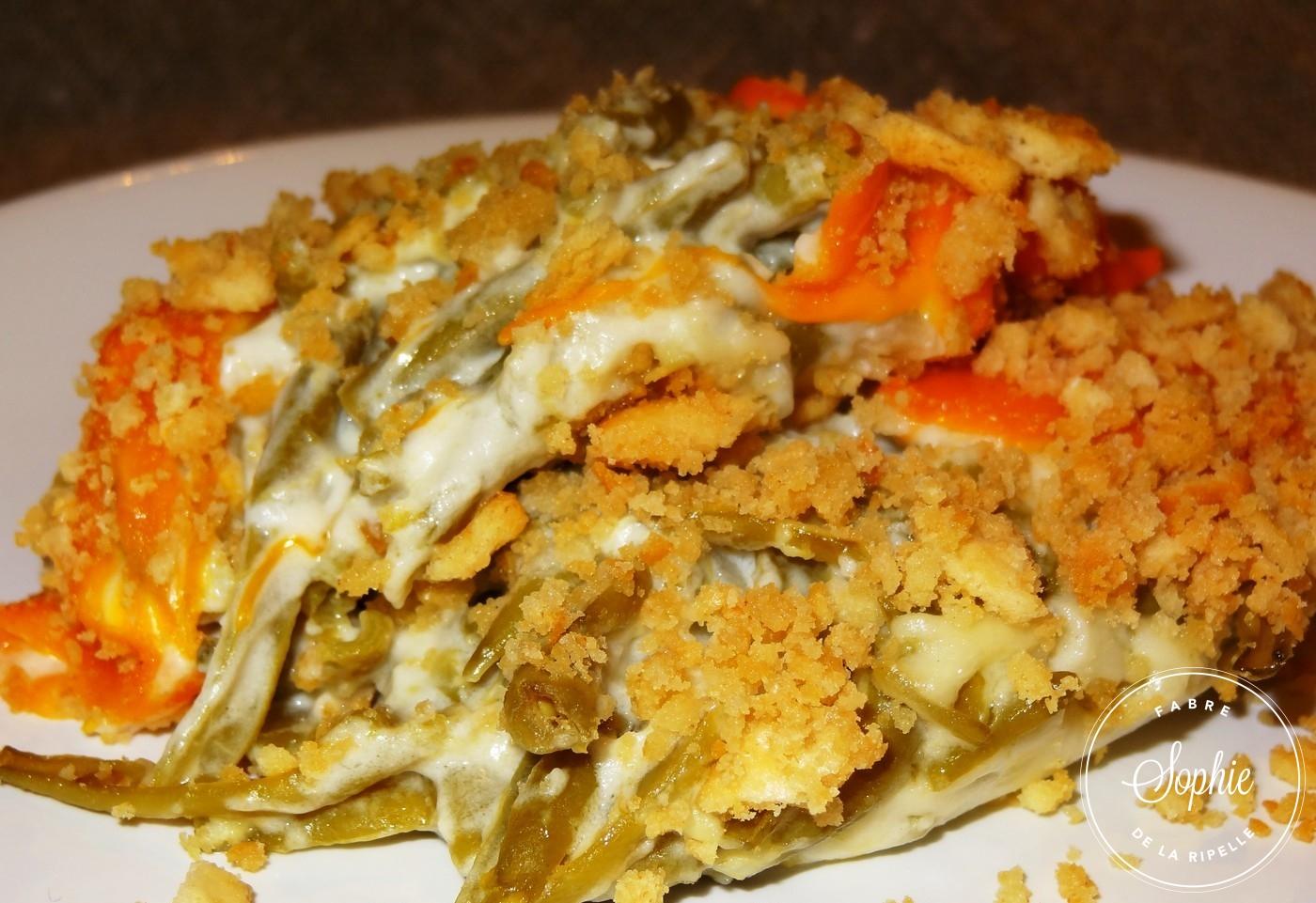 Gratin de haricots verts usa la tendresse en cuisine - Cuisiner des haricots beurre ...