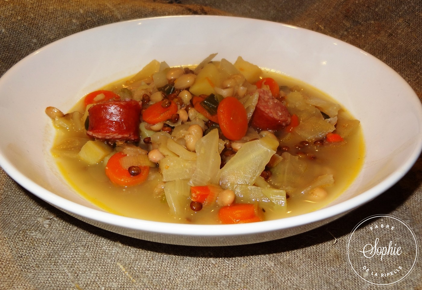 Soupe paysanne aux diots de Savoie La Tendresse En Cuisine