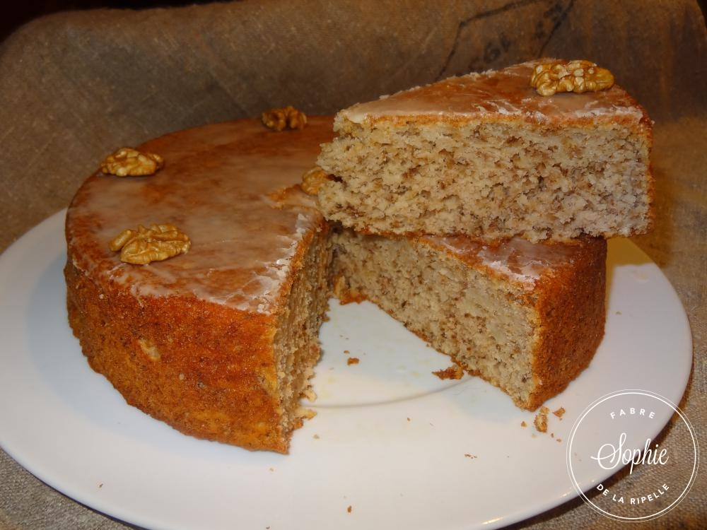 Cake Au Chocolat Et Noix