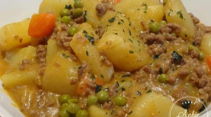 Rago t de viande hach e cr ole la tendresse en cuisine - Viande facile a cuisiner ...