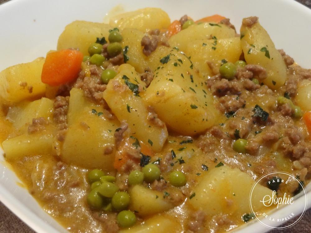 Rago t de viande hach e cr ole la tendresse en cuisine - Cuisiner viande hachee ...