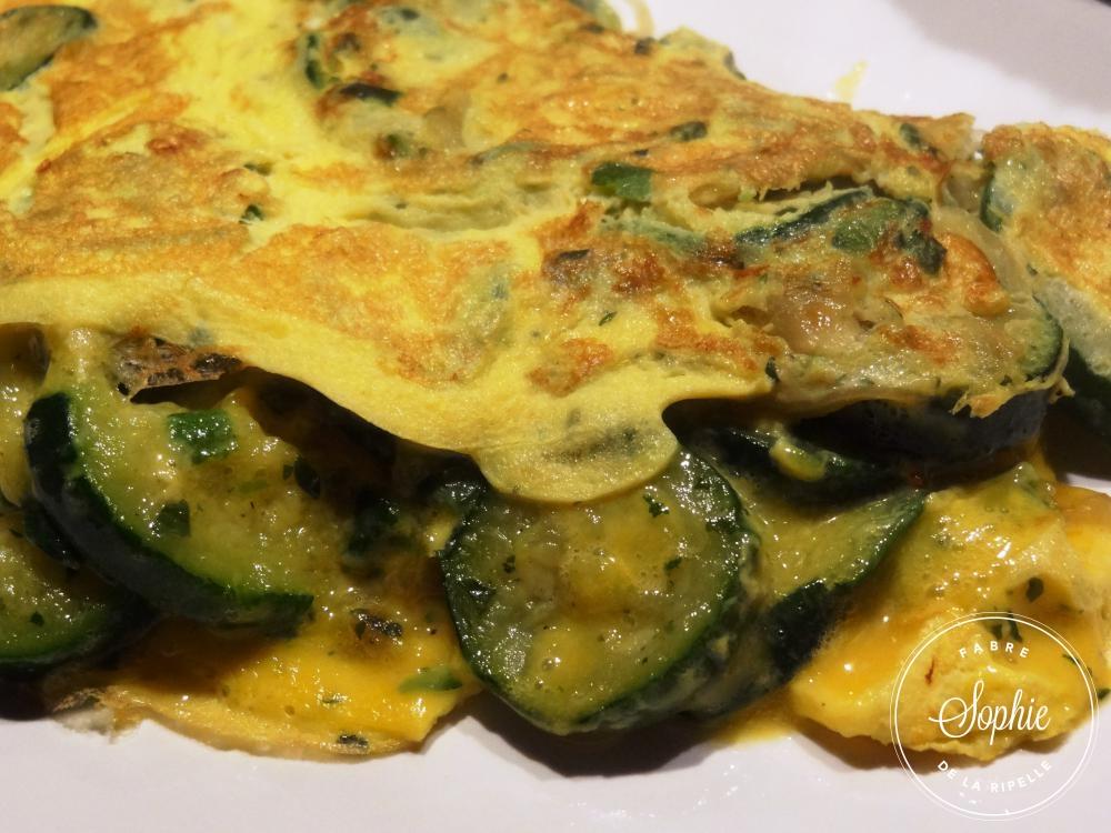 Omelette aux courgettes la tendresse en cuisine for Aux beaux rivages la cuisine