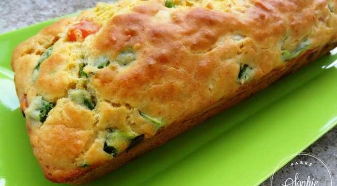 Cake aux tomate poivron oignon la tendresse en cuisine - Cuisiner les poivrons verts ...