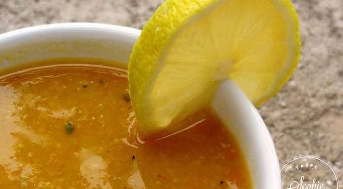 Velouté De Lentilles Corail épicé Au Citron La Tendresse En Cuisine - Cuisiner les lentilles corail