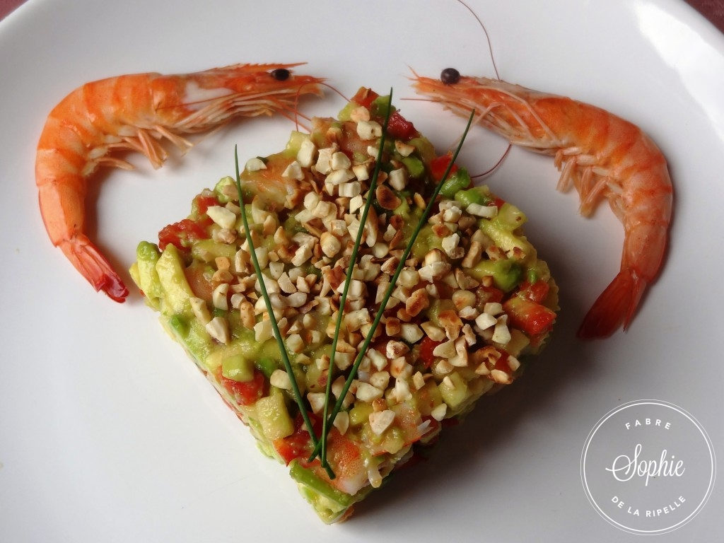 Salade raffin e avocat crevettes la tendresse en cuisine - Cuisiner sans graisse ...
