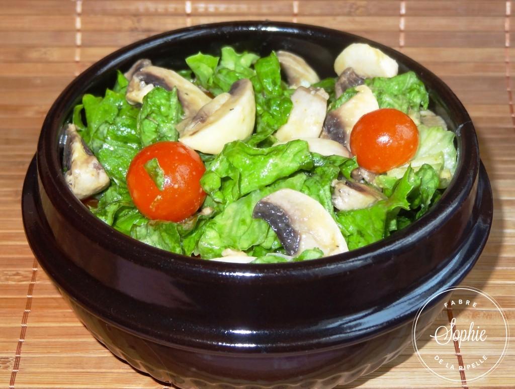 Eplucher des champignons de paris la tendresse en cuisine - Champignon de paris a la poele ...