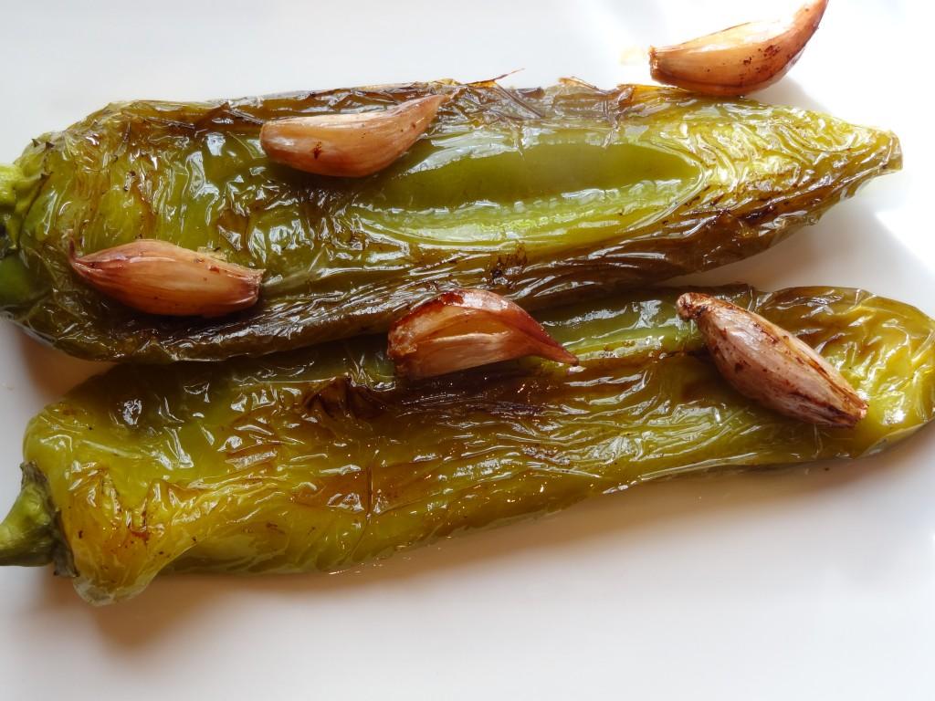 Cornes de boeuf grill es l 39 ail la tendresse en cuisine - Cuisiner des poivrons ...