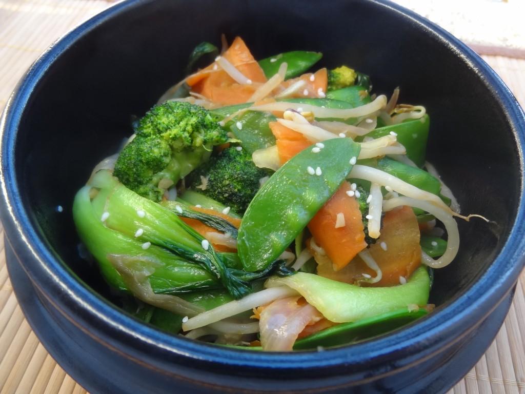 L gumes saut s la chinoise la tendresse en cuisine - Legumes faciles a cuisiner ...