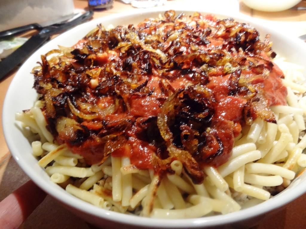 Koshari egypte la tendresse en cuisine - Plats indiens les plus connus ...