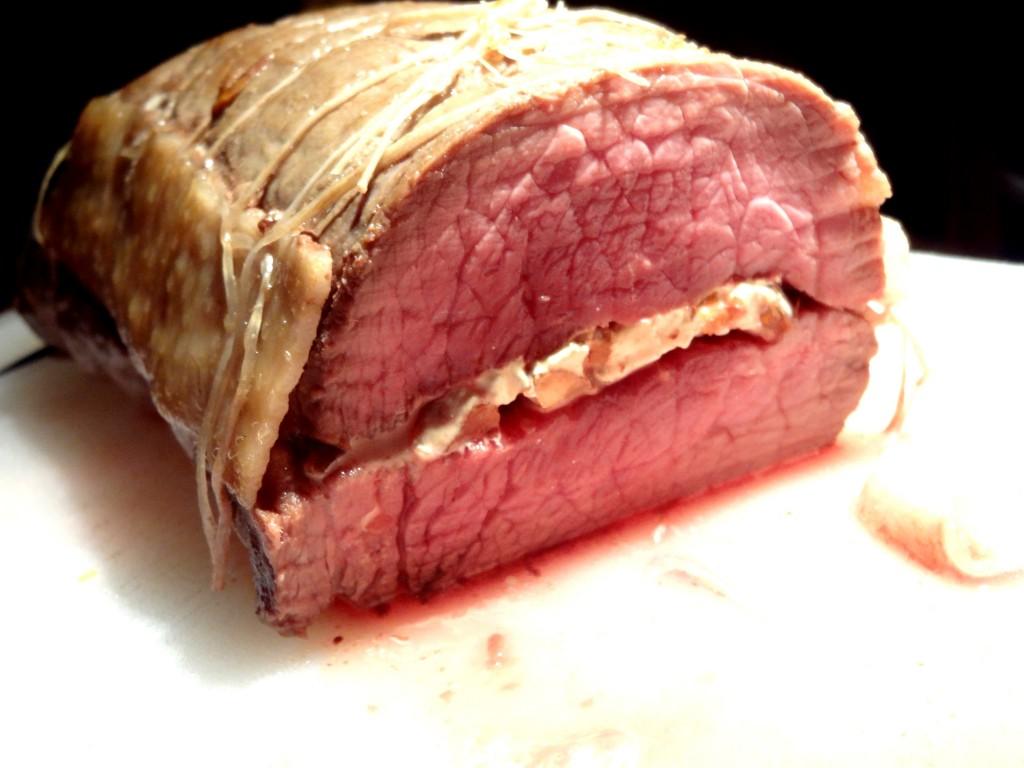 R ti de boeuf bio au nougat la tendresse en cuisine - Cuisiner un roti de boeuf ...