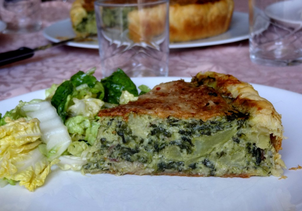 Quiche brocolis pinards maquereaux fum s la tendresse - Cuisiner brocolis surgeles ...