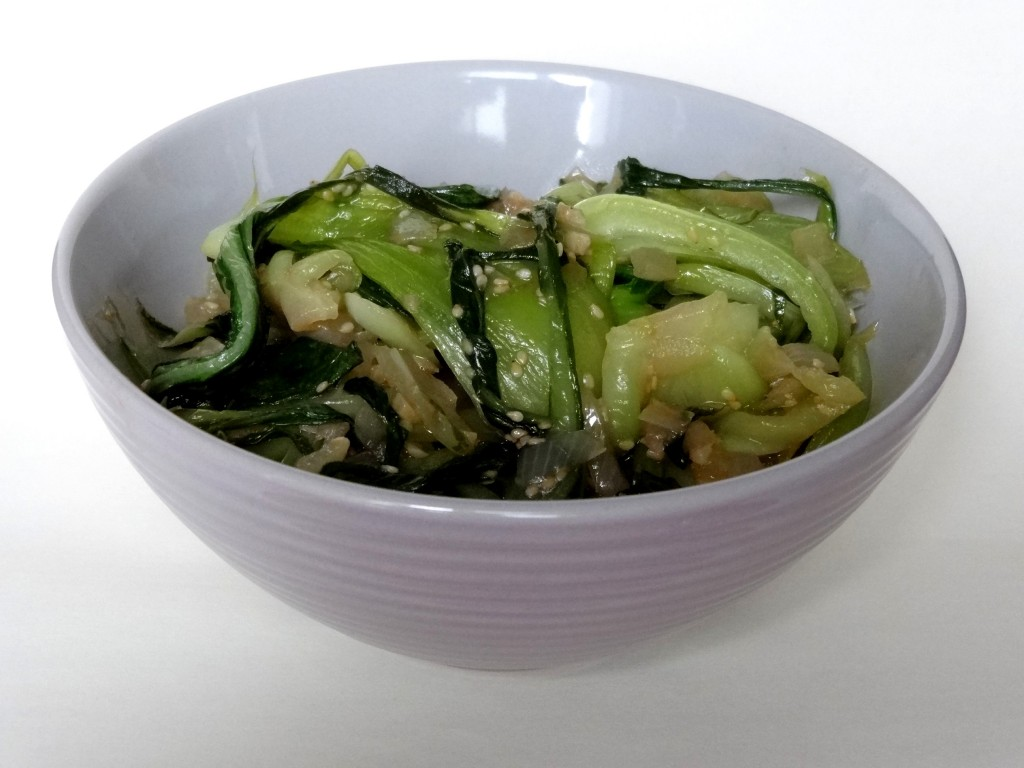 Pak cho sauce hu tre chine la tendresse en cuisine - Cuisson pak choi ...