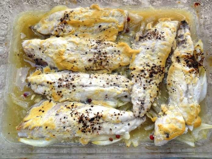 Maquereaux la moutarde et au vin blanc la tendresse en - Cuisiner des maquereaux ...