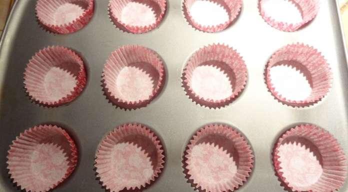 Muffins à la rose et framboises 9
