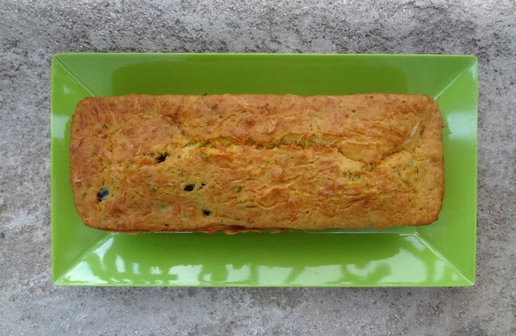 Cake Courgettes Jambon Olives