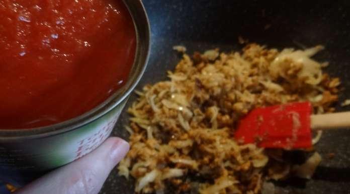Sauce bolognaise au seitan (végétal) 5