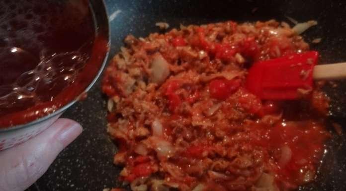 Sauce bolognaise au seitan (végétal) 6