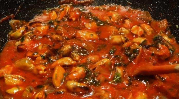 Sauce pour p tes aux moules la tendresse en cuisine - Pates aux fruits de mer recette italienne ...