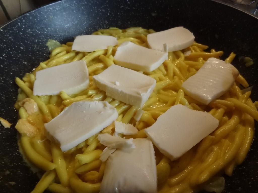 P tes saumon curry et mozzarella la tendresse en cuisine - Pate a la mozzarella ...
