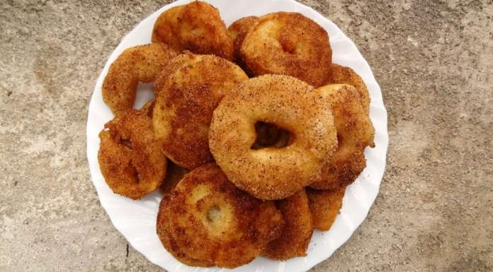 Beignets pomme cannelle 0