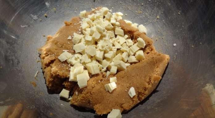 Biscuits beurre de cacahètes et chocolat blanc 3