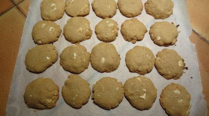 Biscuits beurre de cacahètes et chocolat blanc 5