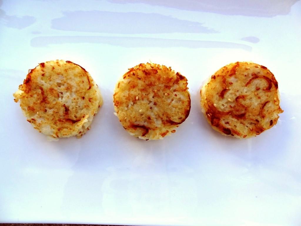 Croquettes de riz oignon s same blogs de cuisine - Peut on donner du riz cuit aux oiseaux ...