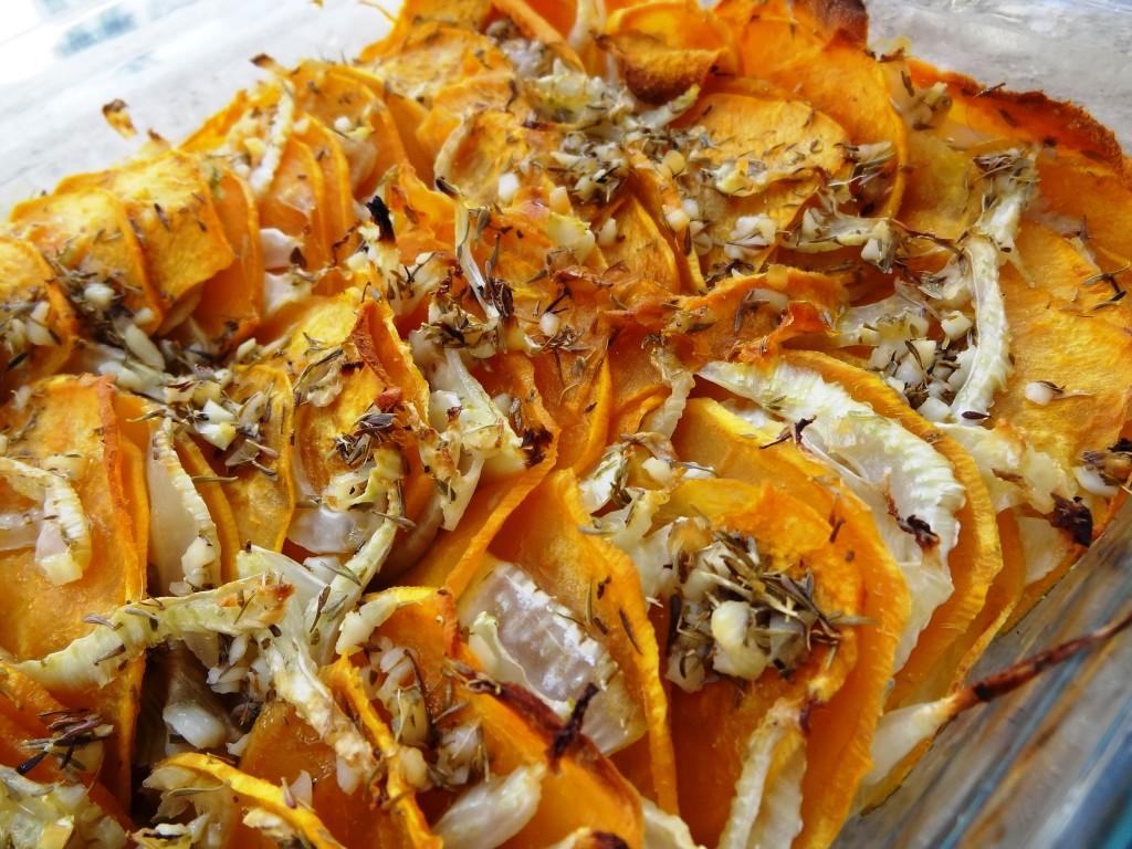 Gratin de patate douce et fenouil la tendresse en cuisine - Comment cuisiner la patate douce a la poele ...