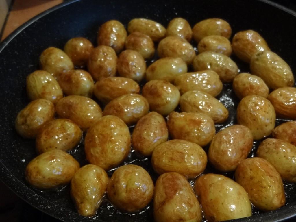 Salade Aux Grenailles Et Truite Fumee La Tendresse En Cuisine