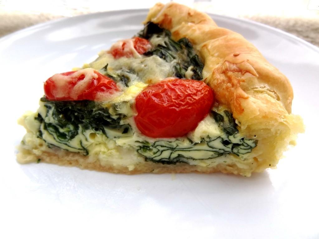 Tarte pinards mozzarella la tendresse en cuisine - Cuisiner sans graisse ...