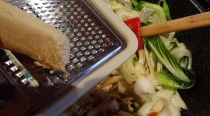 Chow mein aux légumes 11