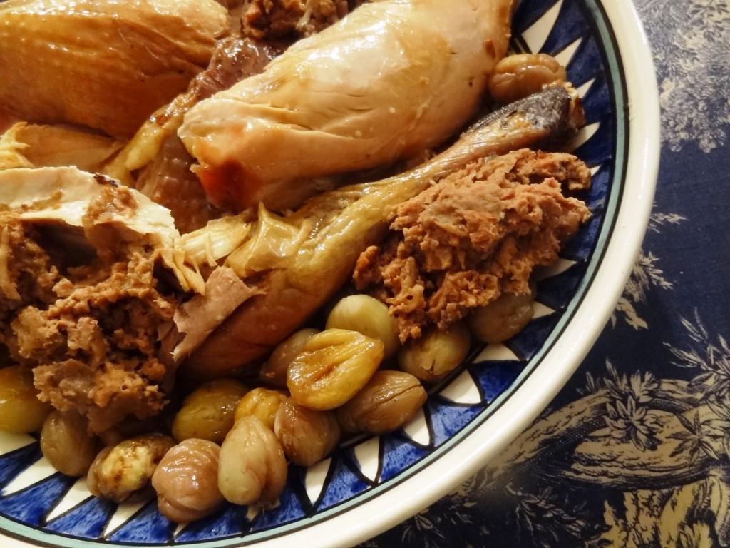 Dinde farcie aux morilles et marrons la tendresse en cuisine for Aux beaux rivages la cuisine