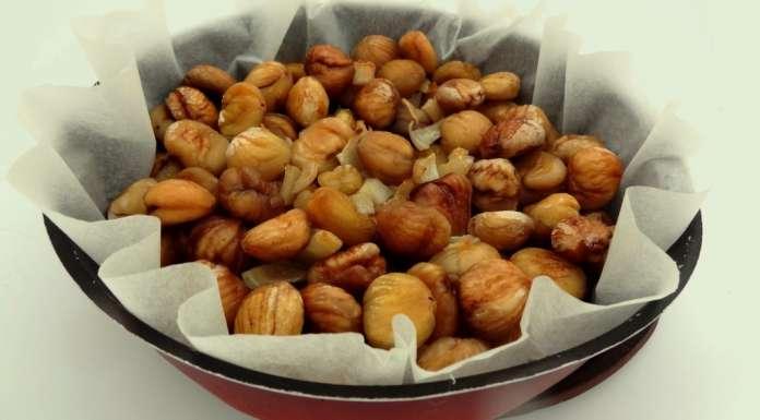 Marrons au four la tendresse en cuisine - Cuire des marrons en conserve ...