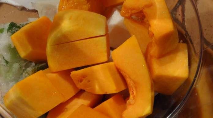 Velouté de légumes au taro 6