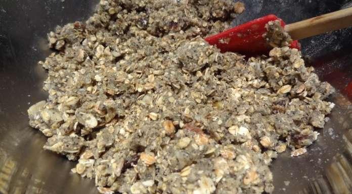 Biscuits à l'avoine et sésame en poudre 7