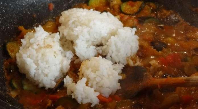 Tarte à la ratatouille, au riz et emmenthal 2