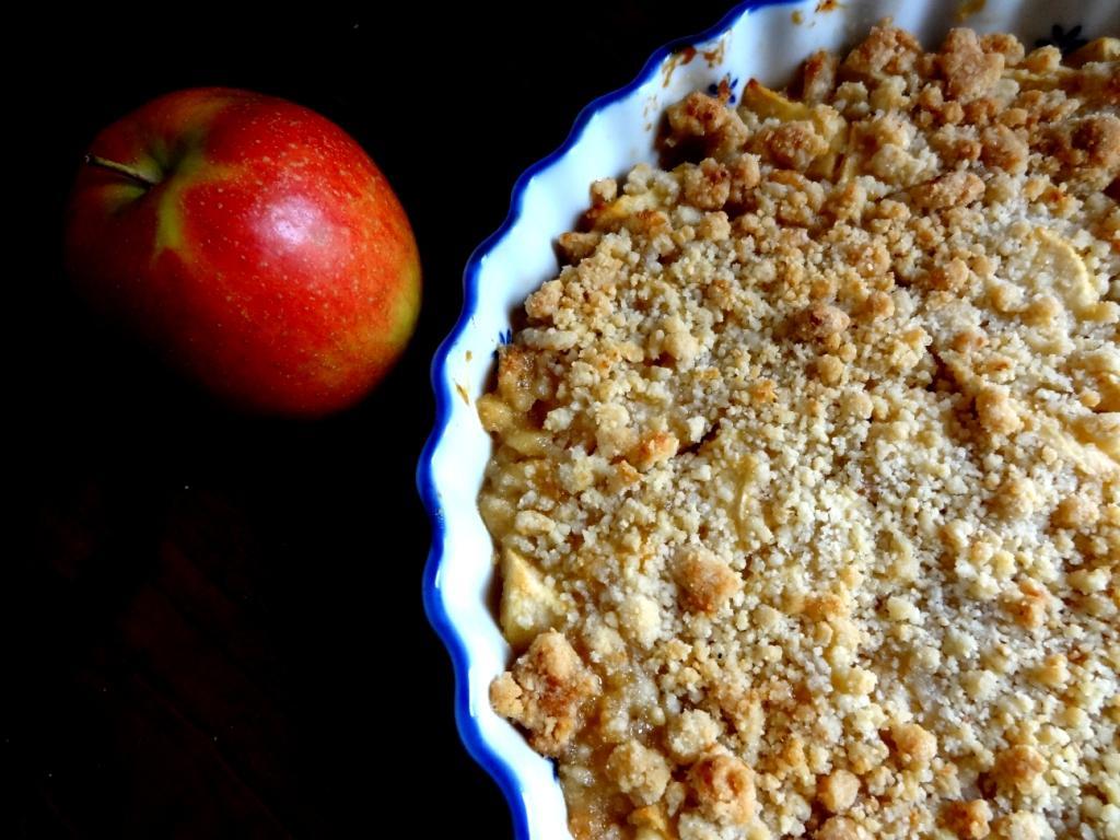 Recette Du Crumble Sans Gluten Pommes Abricot Gingembre